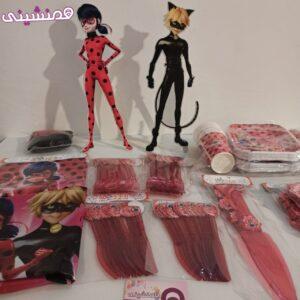 محصولات زیبای تم میراکلس دختر کفشدوزکی لیدی باگ و گربه سیاه پسر گربه ای
