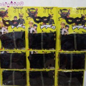 کارتن 9 عددی ست لباس گربه سیاه 3 تا 9 سال در سه سایز مختلف