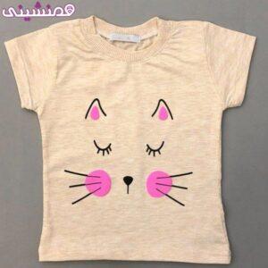 تیشرت زیبای طرح گربه